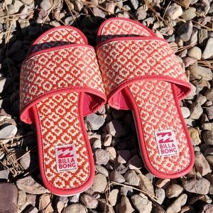 Billabong Slip On Sandals Size 7